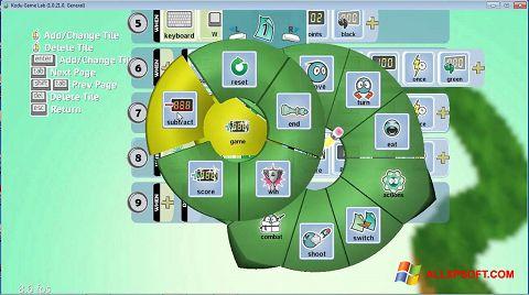 لقطة شاشة Kodu Game Lab لنظام التشغيل Windows XP