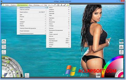 لقطة شاشة ArtRage لنظام التشغيل Windows XP