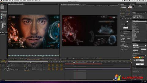 لقطة شاشة Adobe After Effects لنظام التشغيل Windows XP