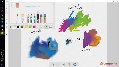 لقطة شاشة Fresh Paint لنظام التشغيل Windows XP
