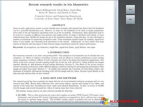 لقطة شاشة Doc Viewer لنظام التشغيل Windows XP