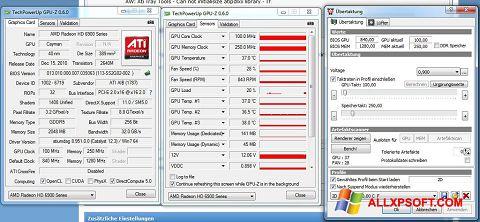لقطة شاشة ATI Tray Tools لنظام التشغيل Windows XP