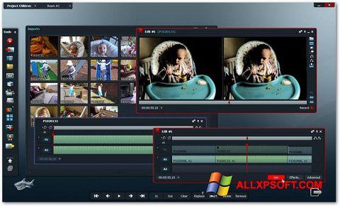 لقطة شاشة Lightworks لنظام التشغيل Windows XP