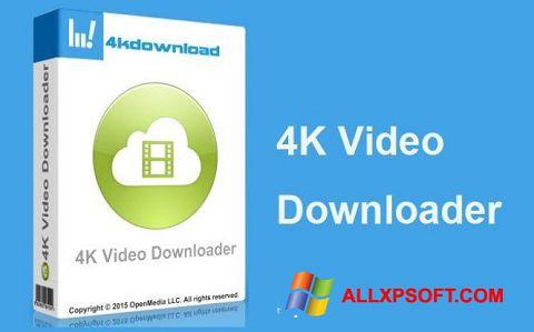 لقطة شاشة 4K Video Downloader لنظام التشغيل Windows XP