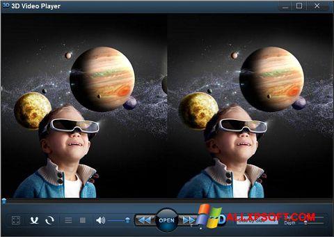 لقطة شاشة 3D Video Player لنظام التشغيل Windows XP