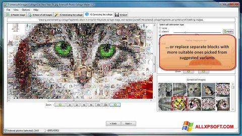 لقطة شاشة Photo Collage Maker لنظام التشغيل Windows XP