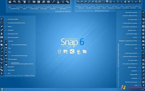 لقطة شاشة Ashampoo Snap لنظام التشغيل Windows XP