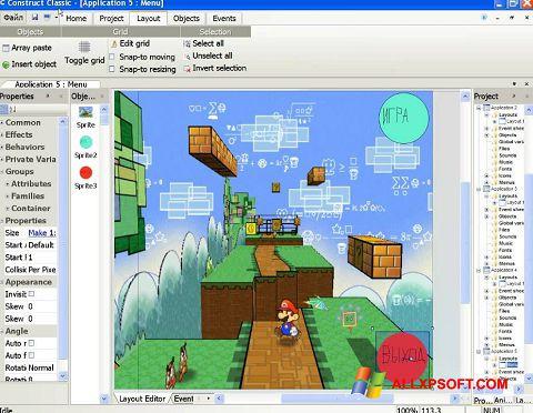 لقطة شاشة Construct Classic لنظام التشغيل Windows XP