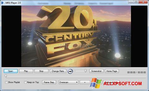 لقطة شاشة MKV Player لنظام التشغيل Windows XP