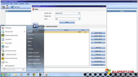 لقطة شاشة MyHotspot لنظام التشغيل Windows XP
