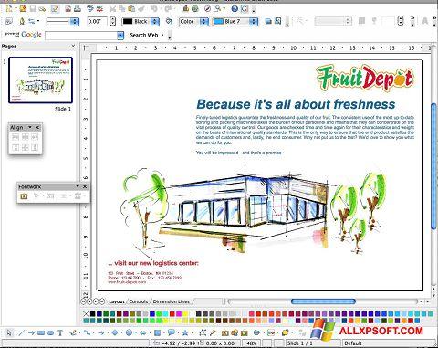 لقطة شاشة Apache OpenOffice لنظام التشغيل Windows XP