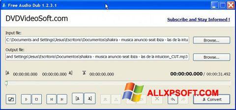 لقطة شاشة Free Audio Dub لنظام التشغيل Windows XP