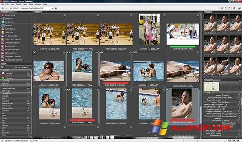 لقطة شاشة Adobe Bridge لنظام التشغيل Windows XP