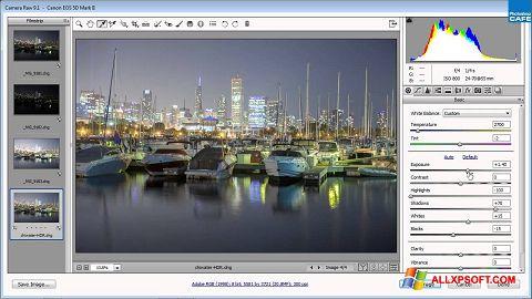 لقطة شاشة Adobe Camera Raw لنظام التشغيل Windows XP