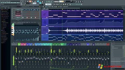 لقطة شاشة FL Studio لنظام التشغيل Windows XP