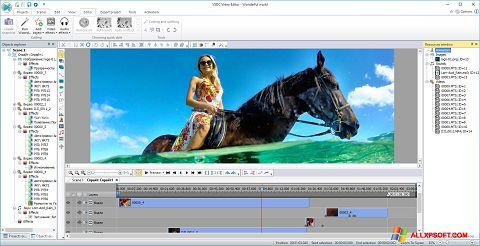 لقطة شاشة Free Video Editor لنظام التشغيل Windows XP