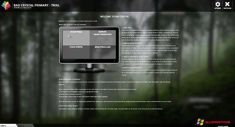 لقطة شاشة Bad Crystal لنظام التشغيل Windows XP