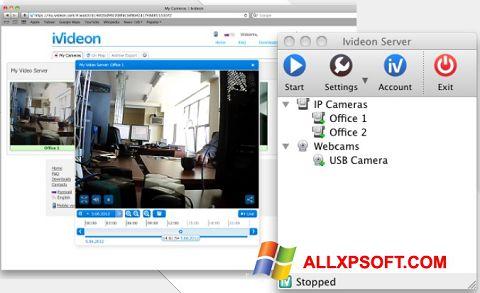 لقطة شاشة Ivideon Server لنظام التشغيل Windows XP