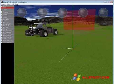 لقطة شاشة 3D Rad لنظام التشغيل Windows XP