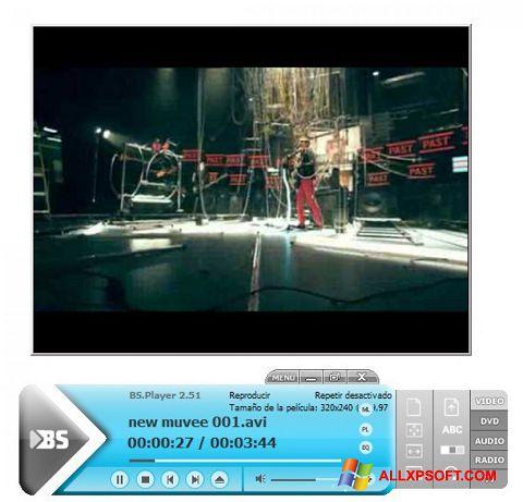 لقطة شاشة BSPlayer لنظام التشغيل Windows XP