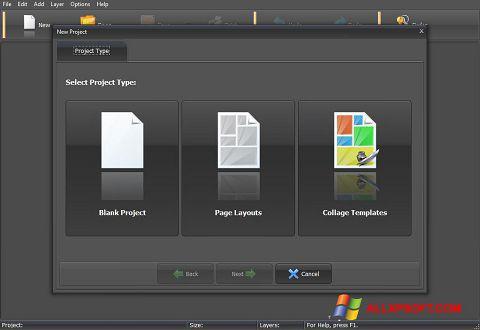لقطة شاشة PhotoMix Collage لنظام التشغيل Windows XP