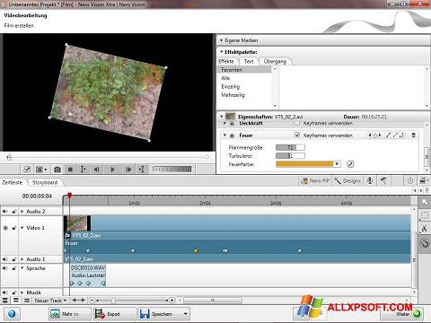 لقطة شاشة Nero Vision لنظام التشغيل Windows XP