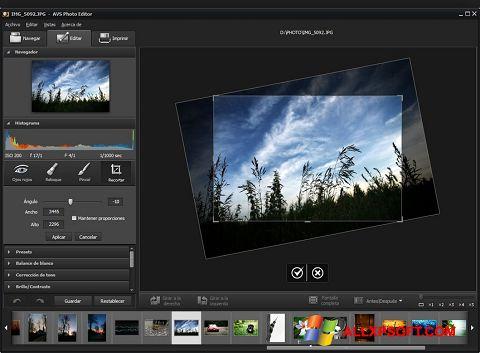 لقطة شاشة Photo! Editor لنظام التشغيل Windows XP