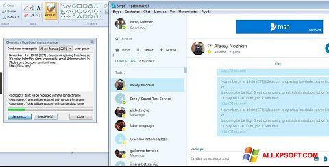 لقطة شاشة Clownfish لنظام التشغيل Windows XP