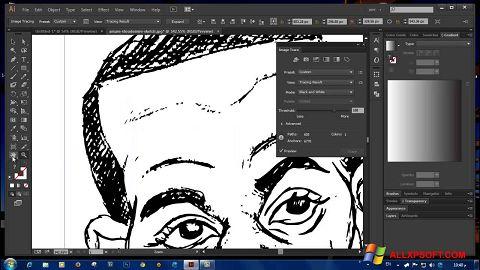 لقطة شاشة Adobe Illustrator CC لنظام التشغيل Windows XP