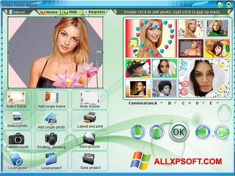 لقطة شاشة Photo Booth لنظام التشغيل Windows XP