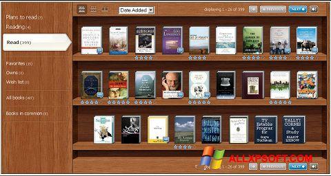 لقطة شاشة Bookshelf لنظام التشغيل Windows XP