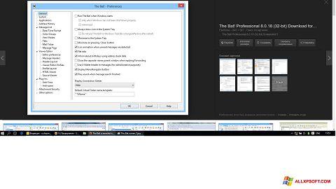 لقطة شاشة The Bat! لنظام التشغيل Windows XP
