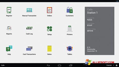 لقطة شاشة Clover لنظام التشغيل Windows XP