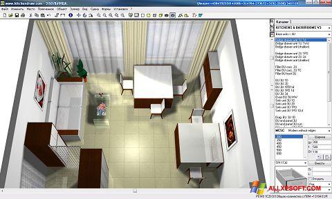 لقطة شاشة KitchenDraw لنظام التشغيل Windows XP