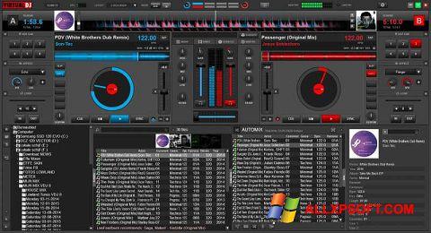لقطة شاشة Virtual DJ لنظام التشغيل Windows XP