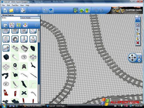 لقطة شاشة LEGO Digital Designer لنظام التشغيل Windows XP