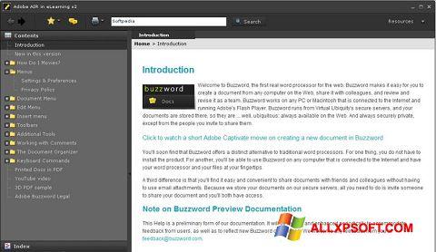 لقطة شاشة Adobe AIR لنظام التشغيل Windows XP