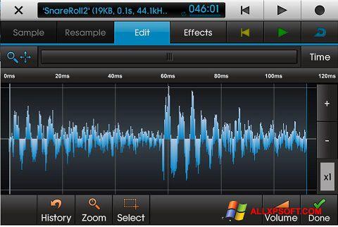 لقطة شاشة NanoStudio لنظام التشغيل Windows XP