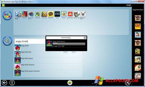لقطة شاشة BlueStacks لنظام التشغيل Windows XP
