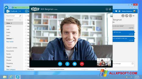 لقطة شاشة Skype لنظام التشغيل Windows XP