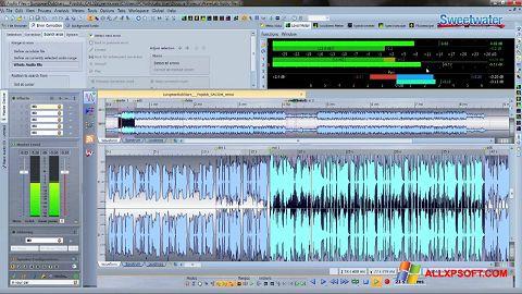 لقطة شاشة WaveLab لنظام التشغيل Windows XP