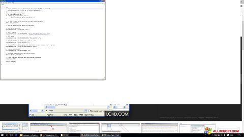 لقطة شاشة AkelPad لنظام التشغيل Windows XP