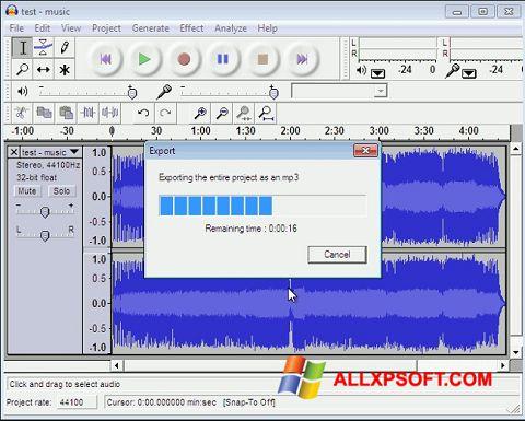 لقطة شاشة Lame MP3 Encoder لنظام التشغيل Windows XP