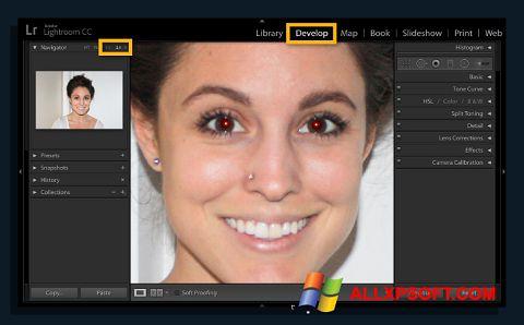 لقطة شاشة Red Eye Remover لنظام التشغيل Windows XP